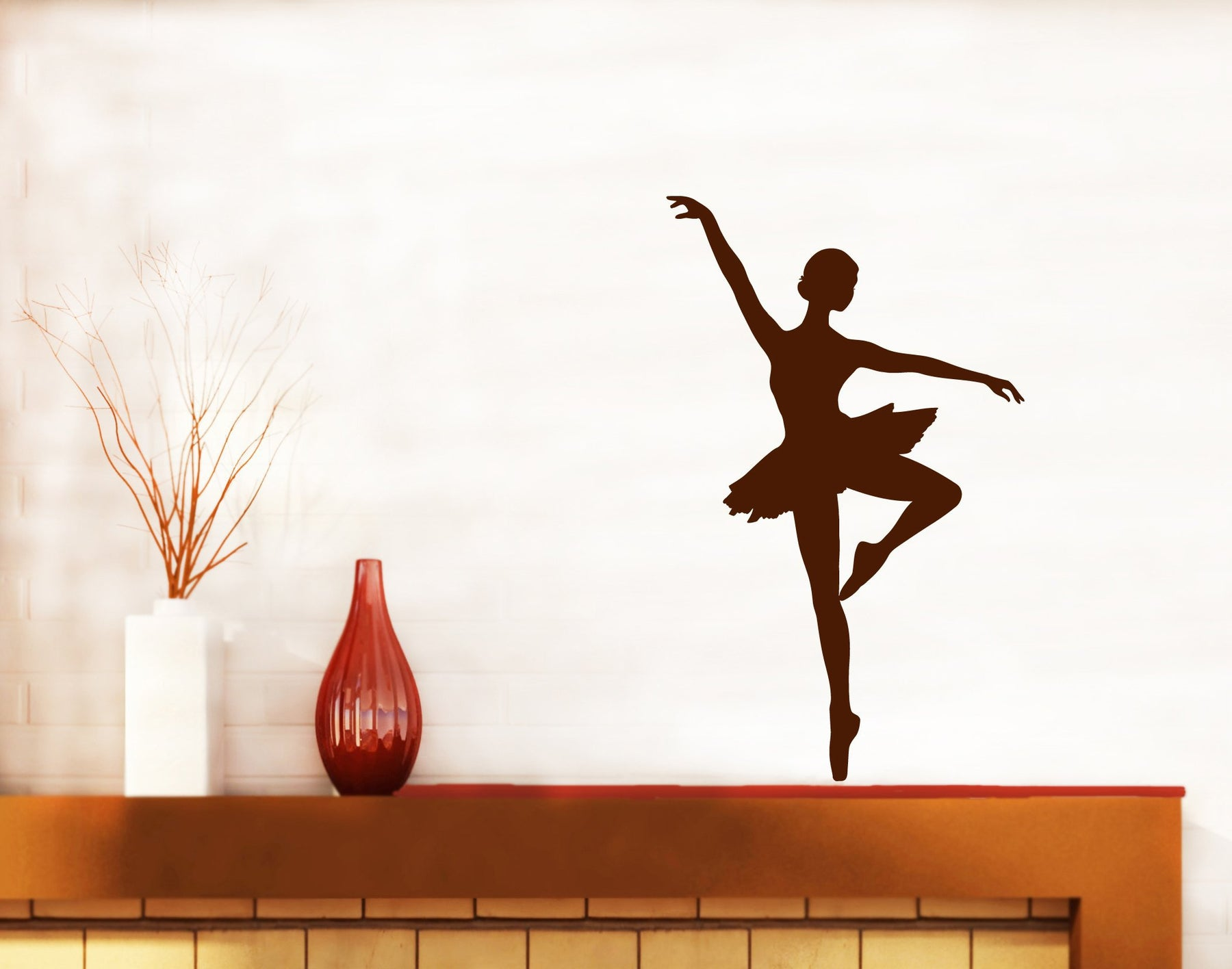 Large Vinyl Decal Wall Sticker Artist Theater Ballerina Classical Dance Studio Decor (n603)
