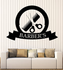 Vinyl Decal Beauty Salon Fashion Barbershop Decor Wall Sticker Unique Gift (n733)