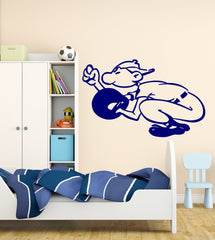 Vinyl Decal Wall Sticker Baseball Catcher Ball American Game Unique Gift (n736)