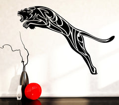Vinyl Decal Wall Sticker Black Panther Wild Cat Predator Animal Tribal Unique Gift (n764)