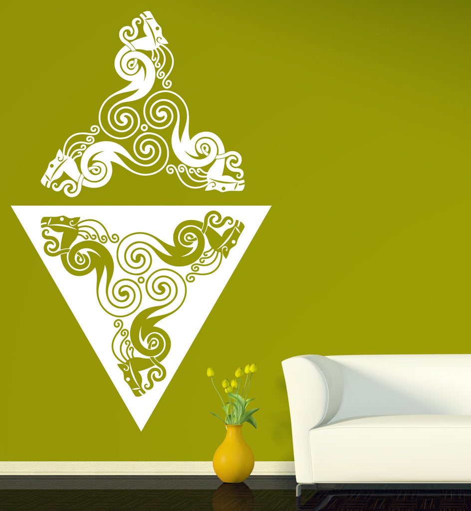 Large Vinyl Decal Wall Sticker Animal Style Pattern Living Room ...