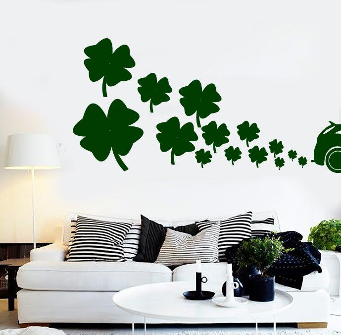 Vinyl Decal Wall Sticker Clean Fuel Irish Car Air Ecology Decor Unique Gift (n811)