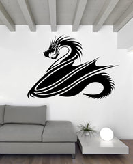 Vinyl Decal Wall Sticker Fantasy Chinese Dragon  Asian Style Decor Unique Gift (n812)