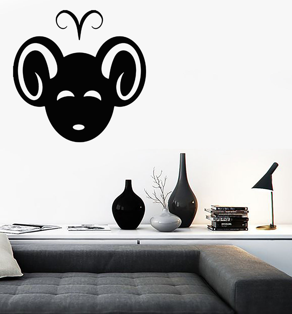 Vinyl Decal Wall Sticker Aries Symbol Zodiac Sign Horoscope Unique Gift (n910)