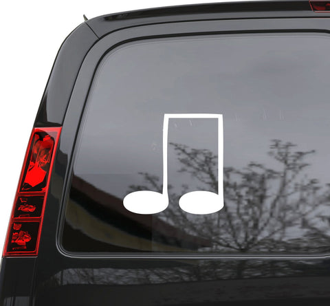 "Auto Car Sticker Decal   Musical Notes Music School Teacher Laptop Window 5"" by 5"" Unique Gift n933c"