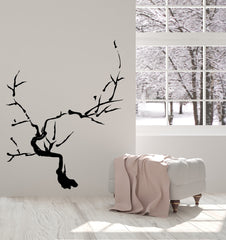 Vinyl Decal Wall Sticker Japanese Bonsai Tree Sakura Branch Oriental Decor Unique Gift n934