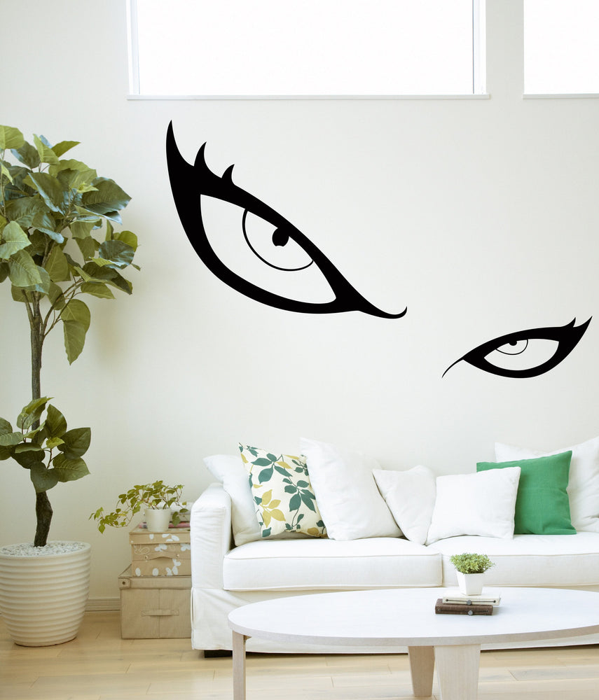 Vinyl Decal Wall Sticker Woman Eyes Glance Like Gimlets (n961)