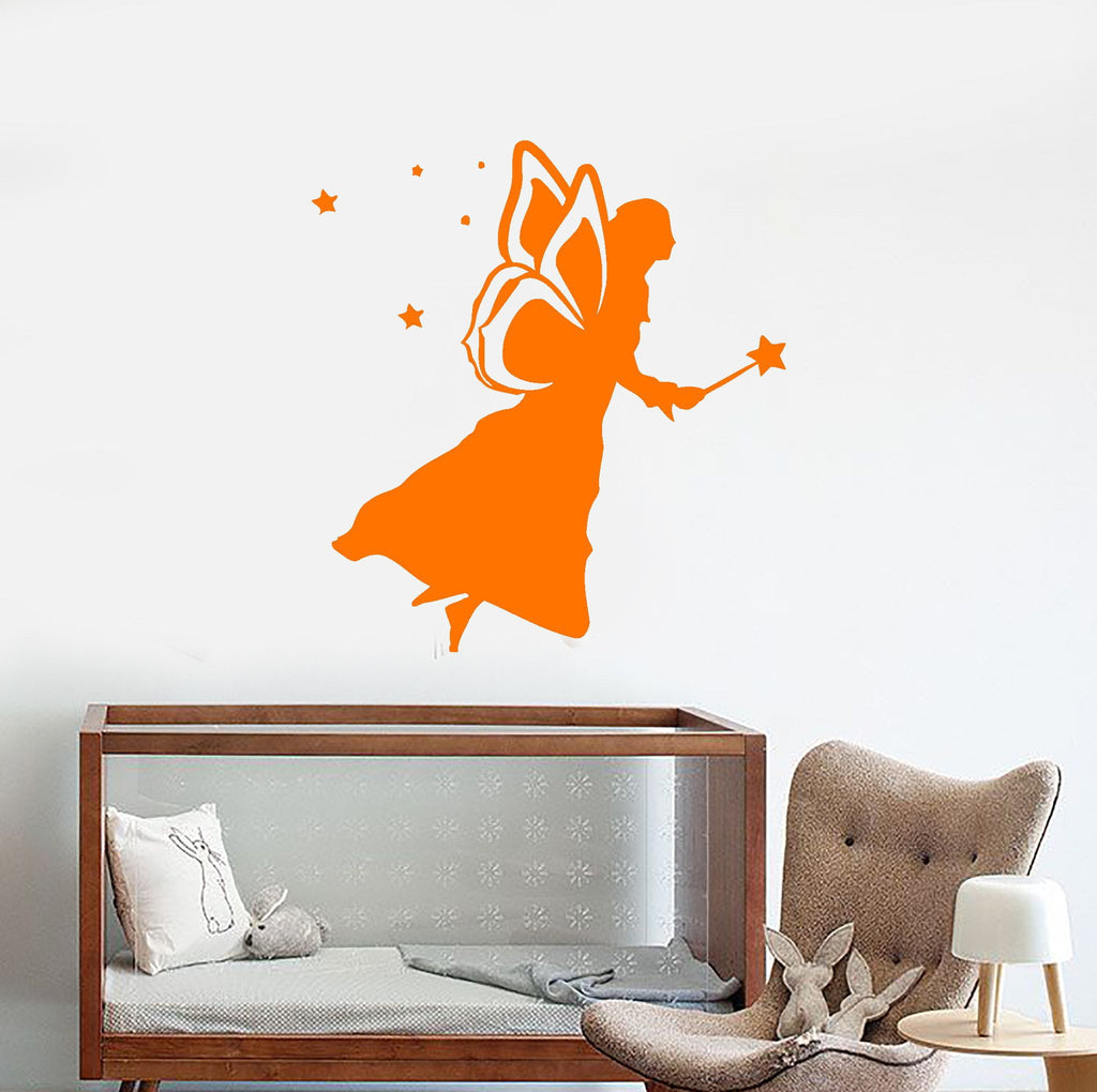 Wall Stickers Vinyl Decal Fairy Tale Nursery Fantasy Decor Bedroom Unique Gift (ig585)