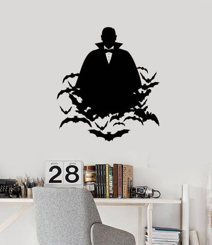 Vinyl Wall Decal Vampire Bats Horror Halloween Any Room Decoration Stickers Mural (ig5440)