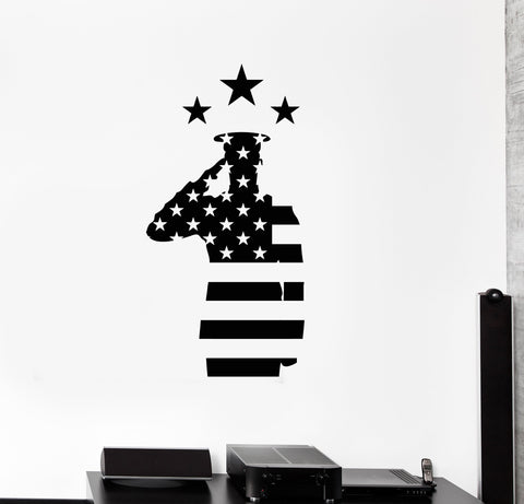 Military And Patriotic Wall Vinyl Decal Wallstickers4you