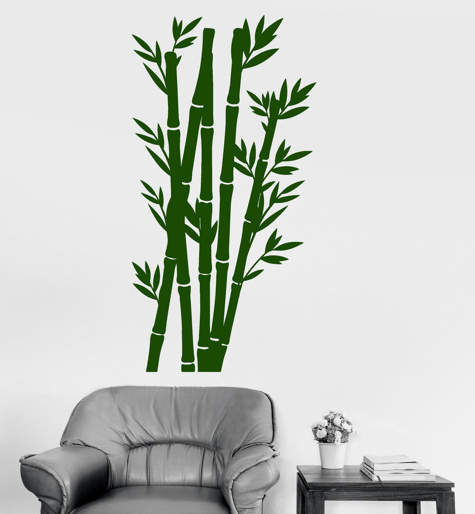 Vinyl Wall Decal Tree Nature Bamboo Chinese Japanese Home Decor Stickers Unique Gift (707ig)  sc 1 st  Wallstickers4you & Vinyl Wall Decal Tree Nature Bamboo Chinese Japanese Home Decor ...