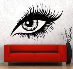 Vinyl Wall Decal Beautiful Female Sexy Eye Sight Stickers Unique Gift (718ig)