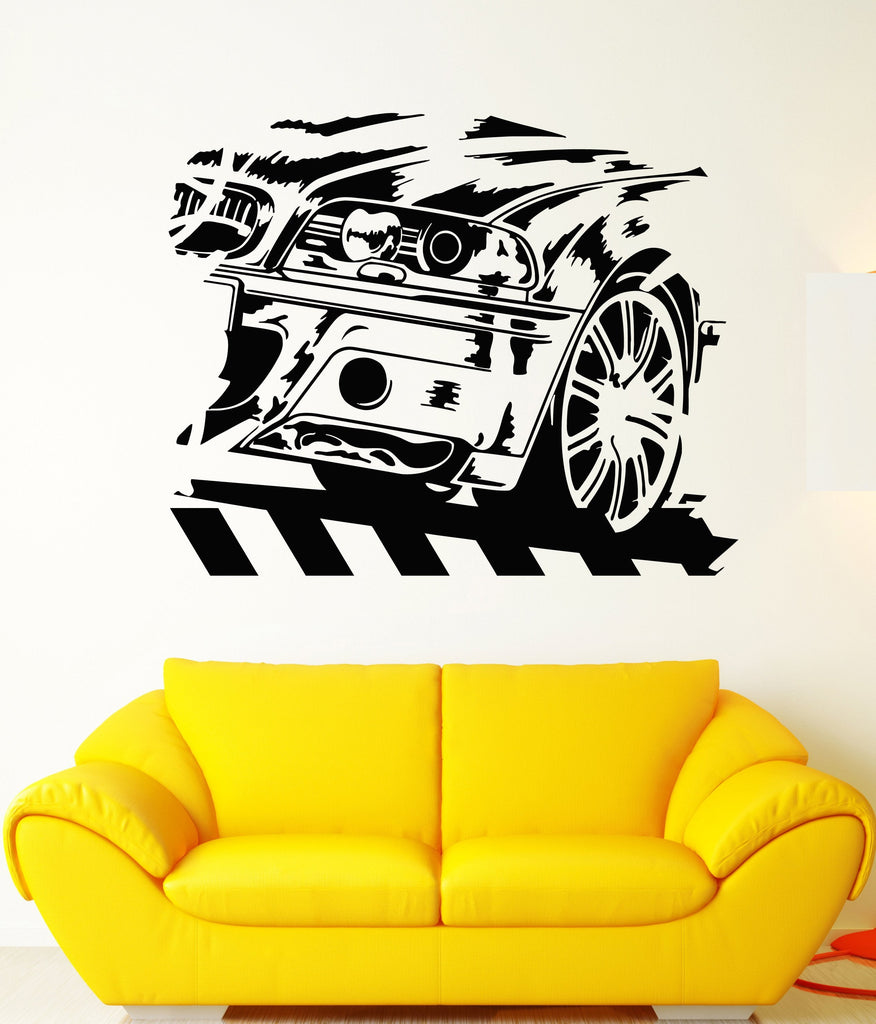 Vinyl Wall Decal BMW German Car Racing Speed Race Driver Stickers ...