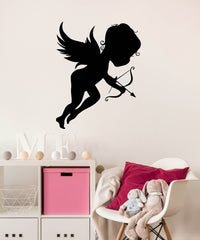 Vinyl Wall Decal Cupid Love Romantic Cute Girl Room Stickers Unique Gift (ig184)