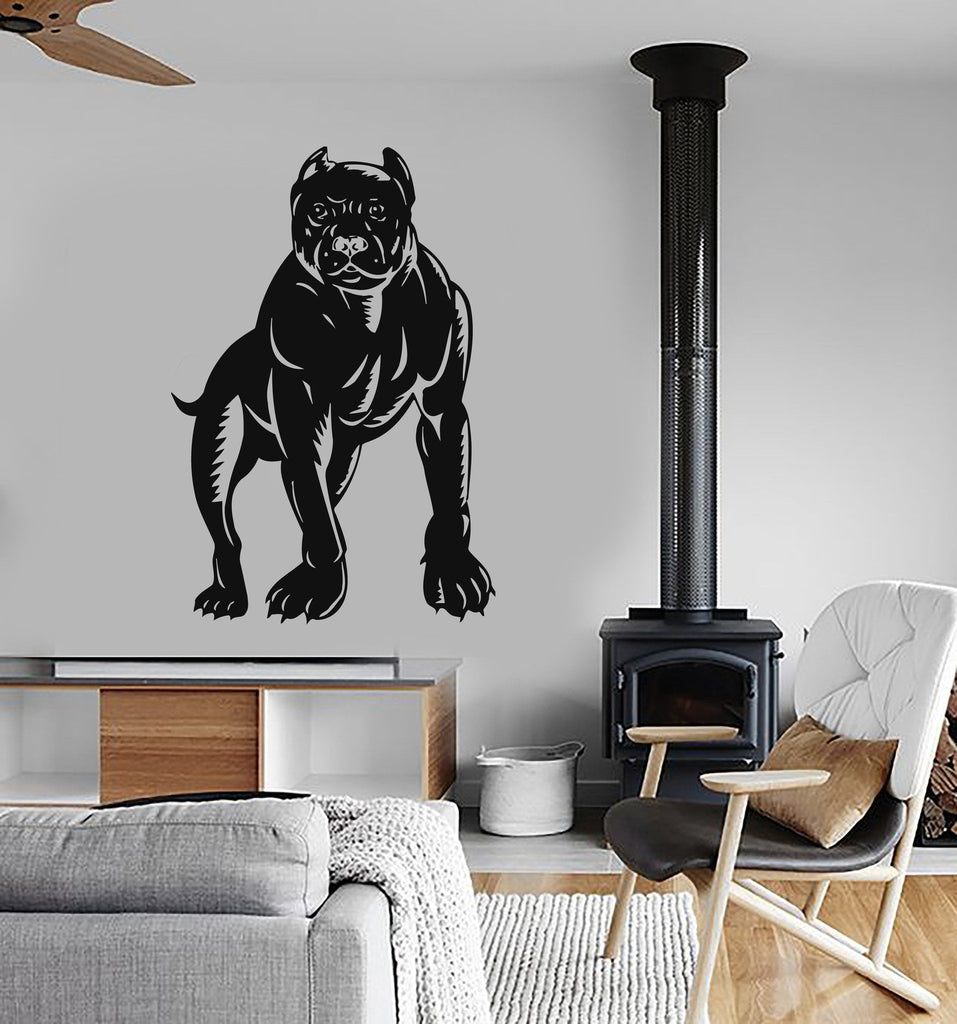 Wall Stickers Vinyl Decal Dog Animal Decor Nice Living Room Unique ...
