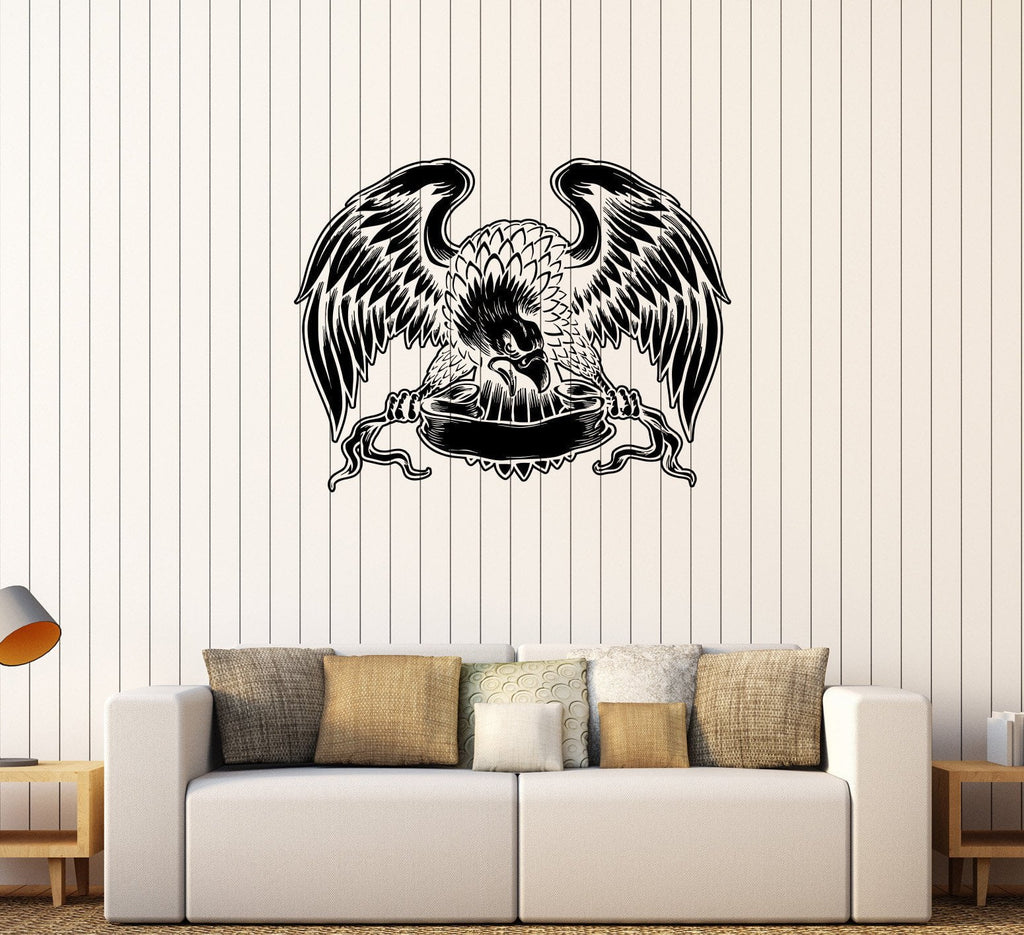 Vinyl Wall Decal American Eagle United States Patriotic Decorating Room Stickers Unique Gift (274ig)