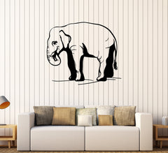 Vinyl Wall Decal African Elephant Animal Room Art Stickers Mural Unique Gift (593ig)