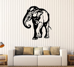 Vinyl Wall Decal African Elephant Animal Tribal Art Stickers Unique Gift (281ig)