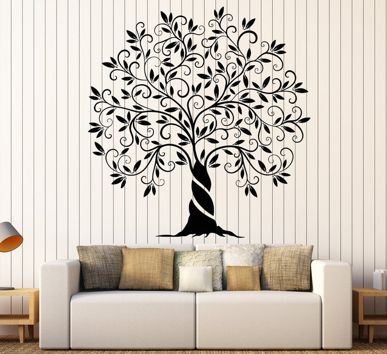 Vinyl Wall Decal Family Tree Of Life Nature Garden Home Decoration