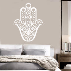 Vinyl Decal Fatima Hand Talisman Hamsa Bedroom Art Stickers Unique Gift (ig3994)