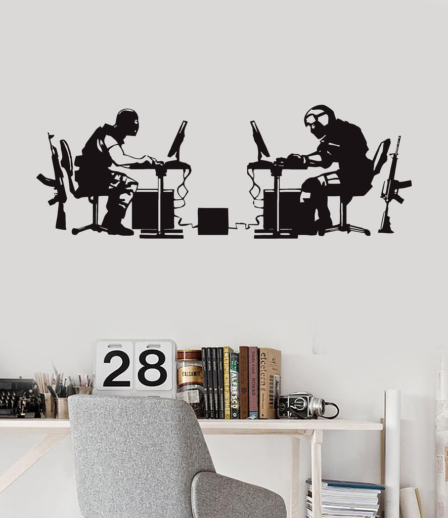 Vinyl wall decal gamer battle video game gaming stickers unique vinyl wall decal gamer battle video game gaming stickers unique gift ig3859 amipublicfo Choice Image