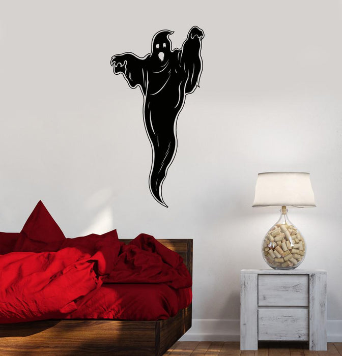 Vinyl Decal Ghost Phantom Horror Room Decoration Wall Stickers Unique Gift (ig2675)
