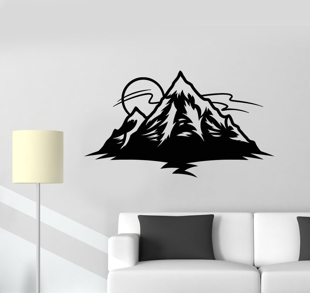 Vinyl wall decal sun mountain nature island nursery childrens vinyl wall decal sun mountain nature island nursery childrens playroom stickers unique gift 872ig amipublicfo Choice Image