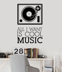 Music Vintage Musical Decoration Coolest Art Wall Decal Vinyl Sticker Unique Gift (ig3139)