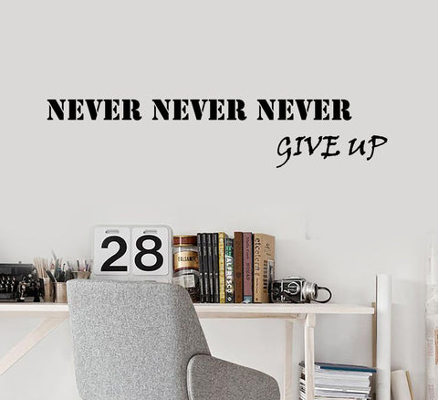 Vinyl Wall Decal Creative Motivation Quote Letters  Success Stickers 1992ig (22.5 in x 5 in)