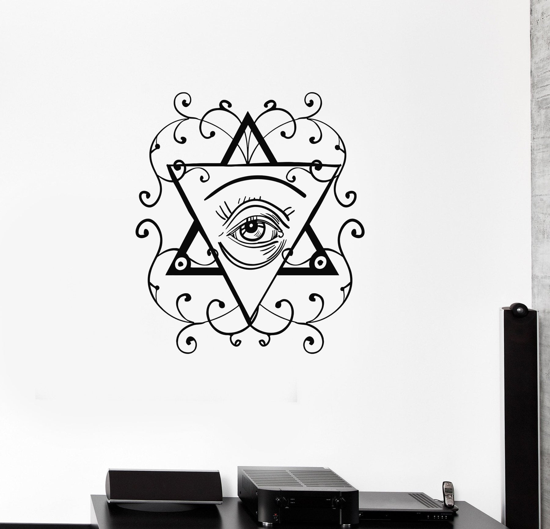 Details about  /Vinyl Decal Pyramid Masons Freemasons Conspiracy Theory Wall Stickers ig3365