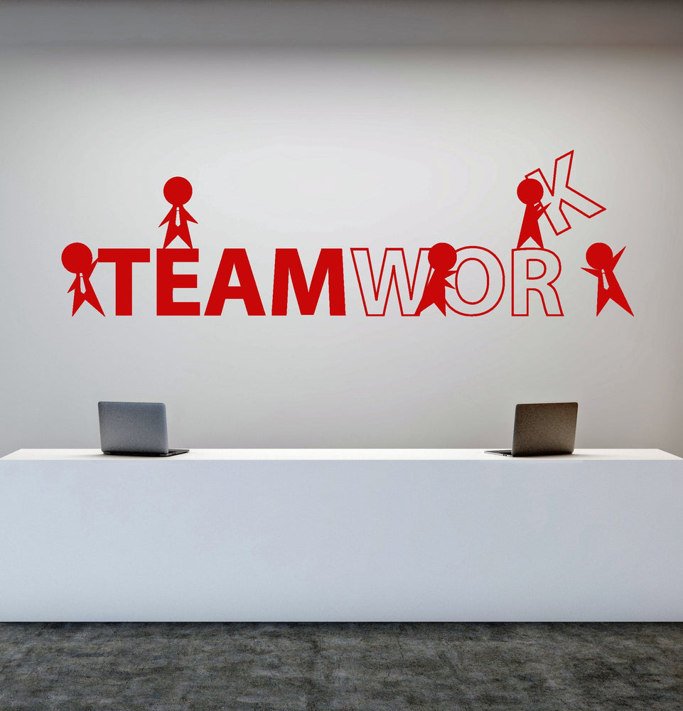 wall decal for office. Vinyl Wall Decal Office Worker Style Teamwork Cartoon People Stickers  Unique Gift (1757ig) Wall Decal For Office