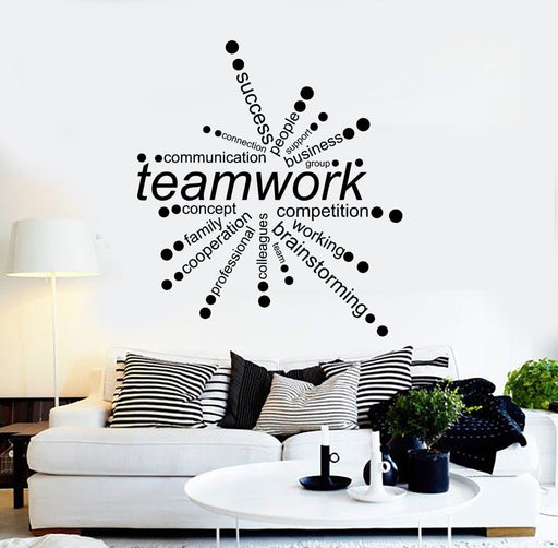 Office Wall Vinyl Decals — Wallstickers4you