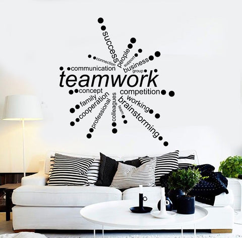 Office Wall Vinyl Decals – Wallstickers4You