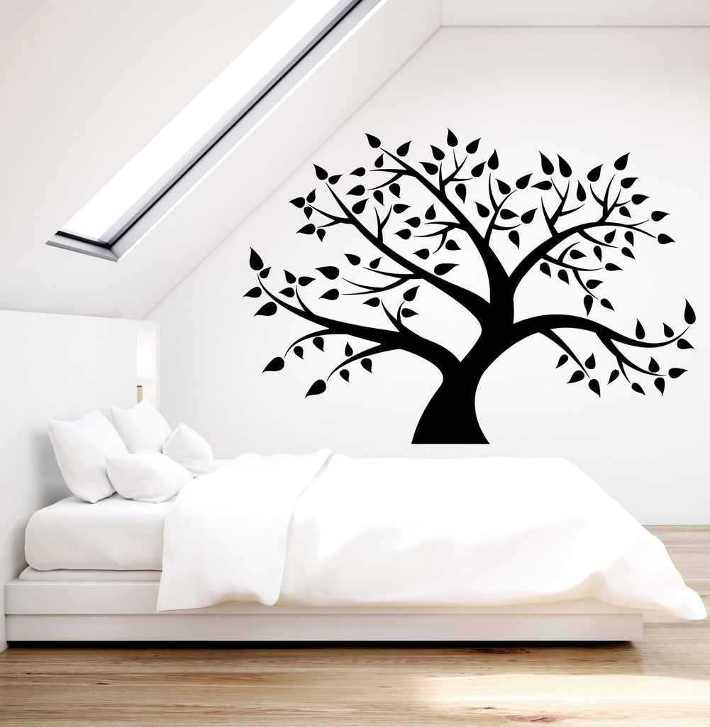 Vinyl Wall Decal Family Tree Forest Nature Leaves Stickers (2341ig)  sc 1 st  Wallstickers4you & Vinyl Wall Decal Family Tree Forest Nature Leaves Stickers (2341ig ...