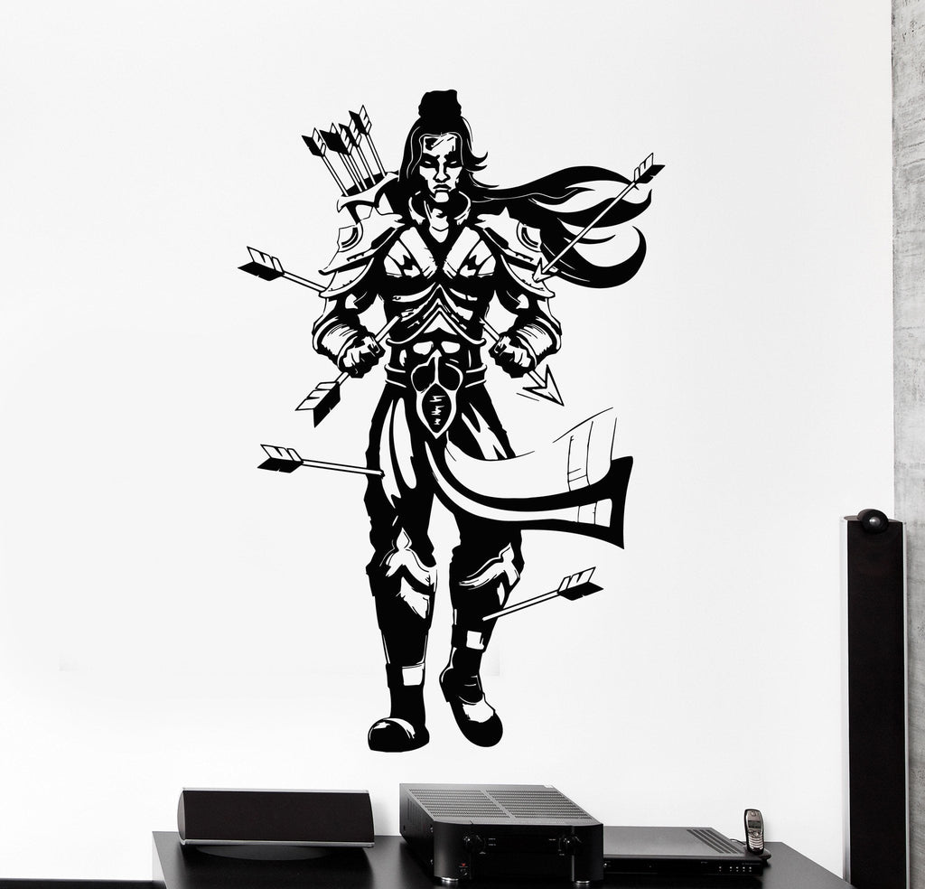 Vinyl Wall Decal Lord Rama Hinduism Arrows India Hindu Stickers - Wall decals india
