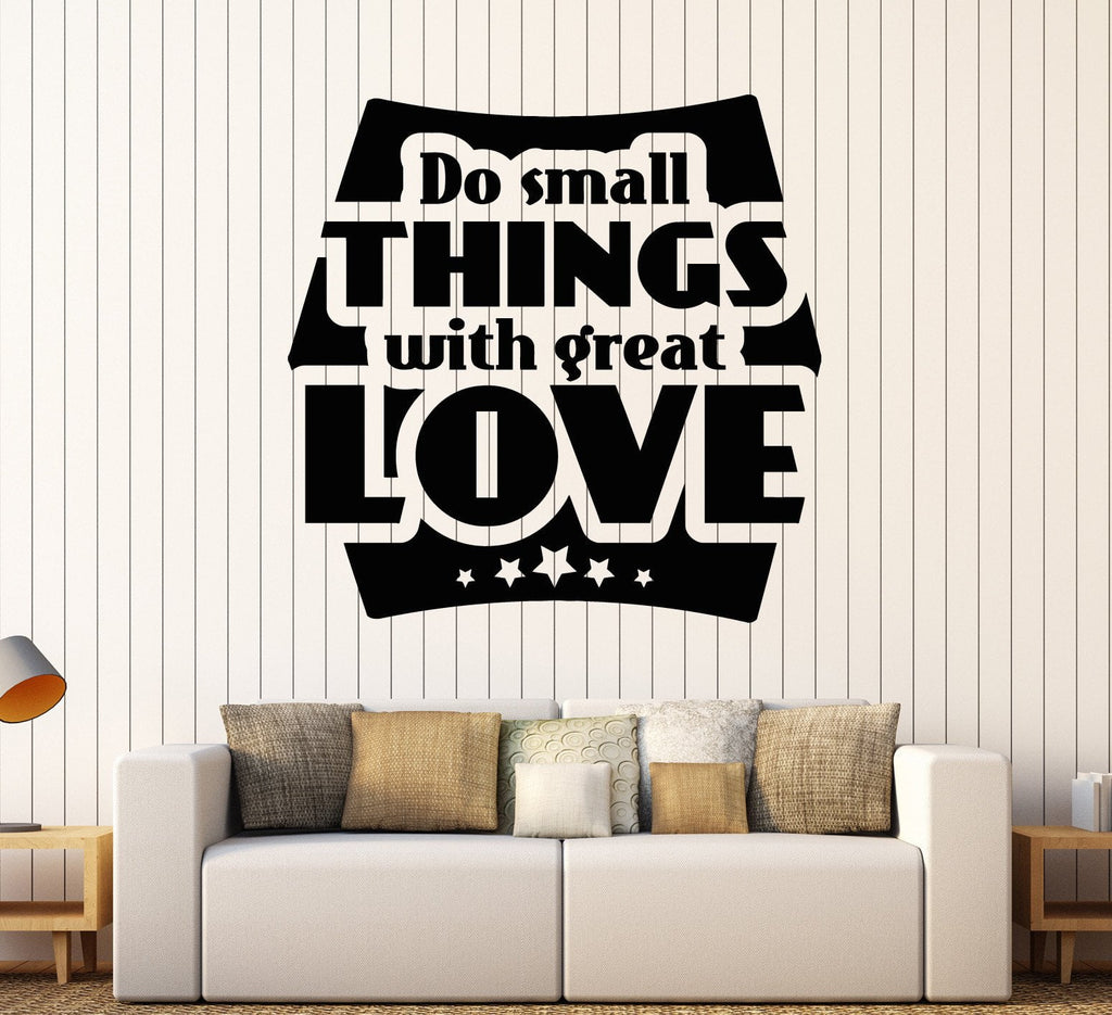 Vinyl Wall Decal Motivation Quote Inspired Office Decor Stickers Mural  Unique Gift (ig4585)