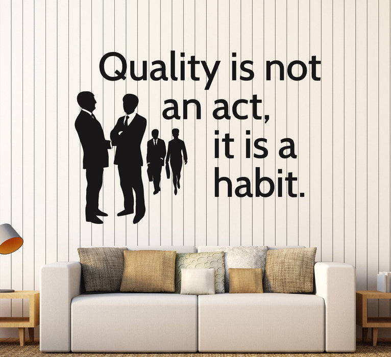 Vinyl Wall Decal Office Quote Inspire Motivation Decor Stickers Mural  Unique Gift (ig4611)
