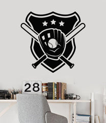 Vinyl Wall Decal Baseball Sport Sports Fan Boys Room for Men Stickers Unique Gift (ig3125)