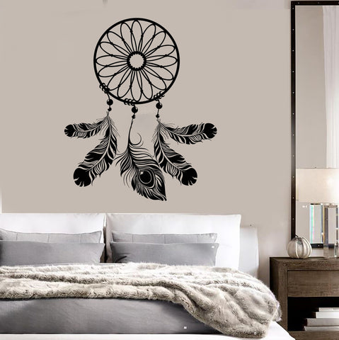 Dreamcatcher Bedroom Decor Talisman Art Dream Catcher Wall Vinyl Sticker Decal (ig3094)