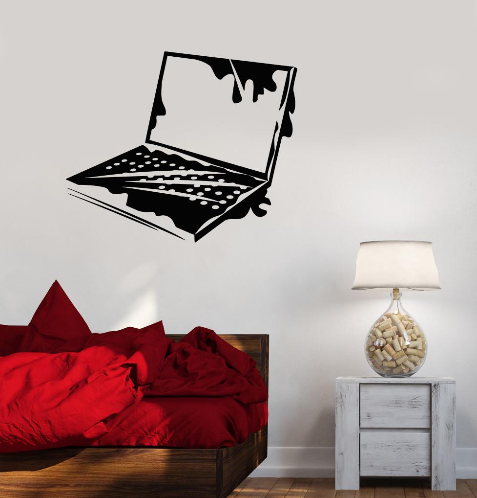 Vinyl Decal Laptop IT Computer Geek Gaming Playroom Wall Stickers Unique Gift (ig2770)