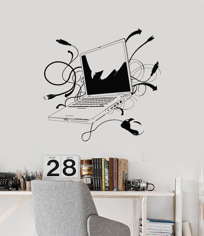 Vinyl Decal Laptop IT Computer Gaming  Decor Wall Sticker Mural (ig2776)