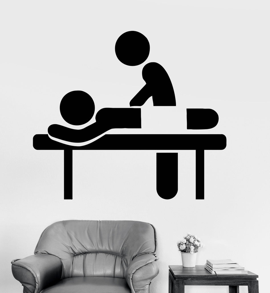 Vinyl Wall Decal Massage Room Spa Therapy Salon Relax Stickers Unique Gift (ig3617)