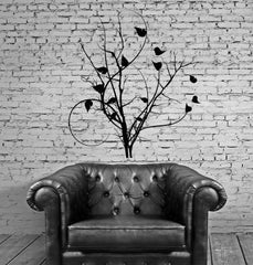 Vinyl Decal Tree Branch Leaves Room Art Home Decoration Unique Gift (ig2792)