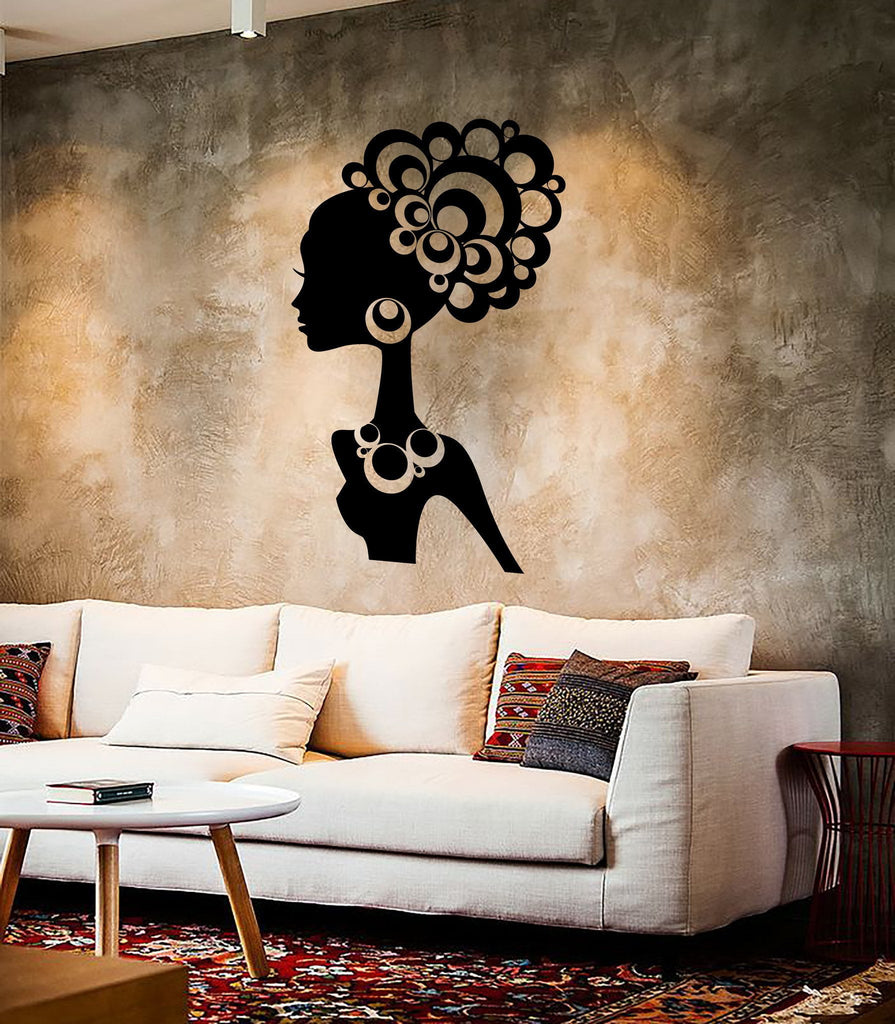 Wall stickers vinyl decal hot sexy girl black african lady cool wall stickers vinyl decal hot sexy girl black african lady cool decor unique gift ig2271 amipublicfo Gallery