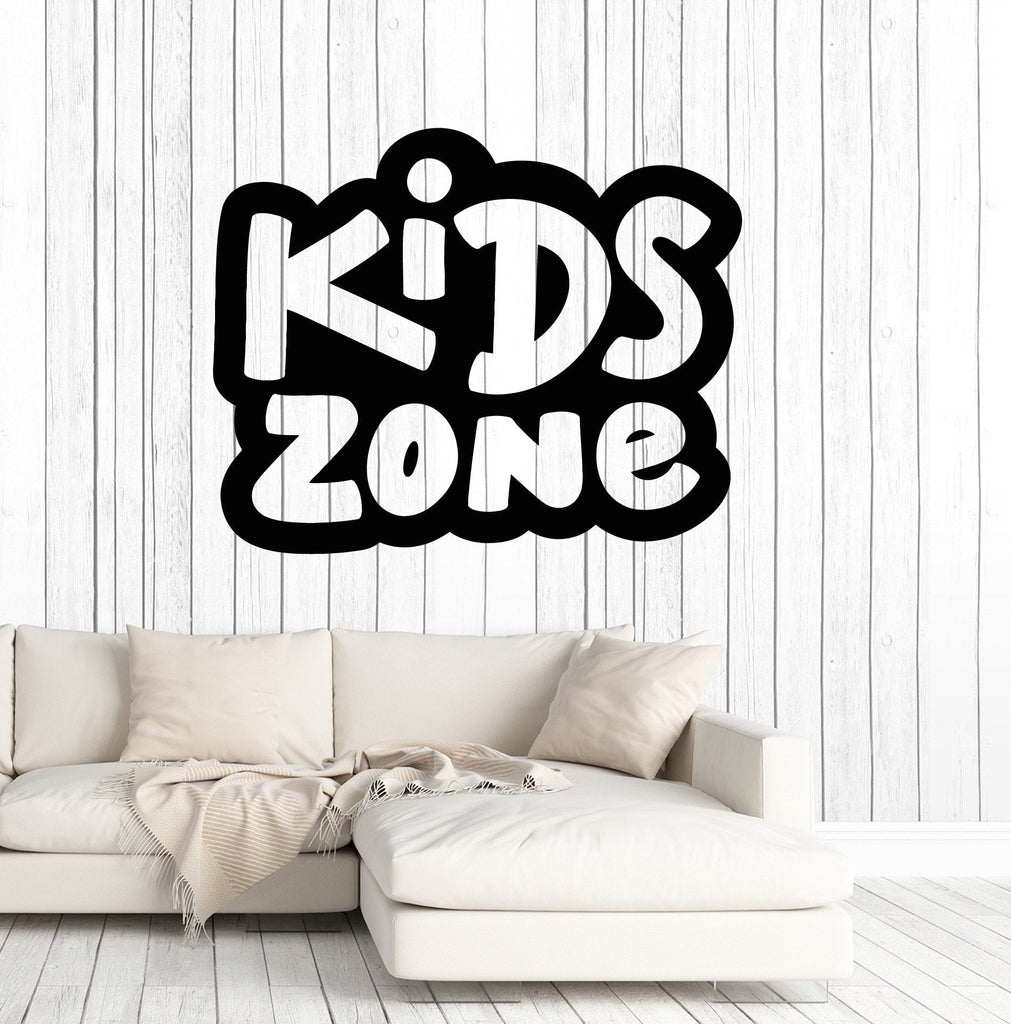 vinyl wall decal kids zone childs room kids baby decoration stickers mural unique gift ig4972 - Stickers Muraux Design Decoration