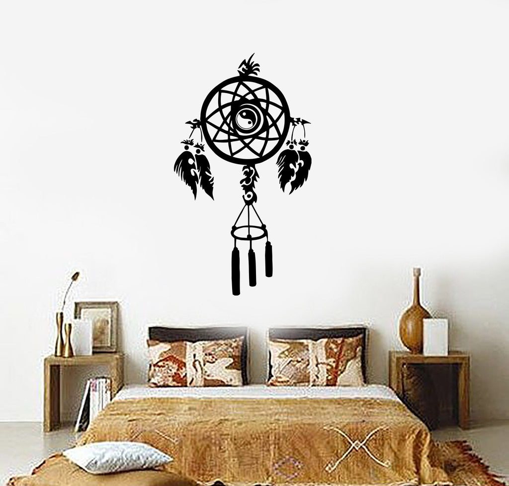 Wall Decal Dreamcatcher Amulet Dream Catcher Protection Vinyl Stickers (ig2262)