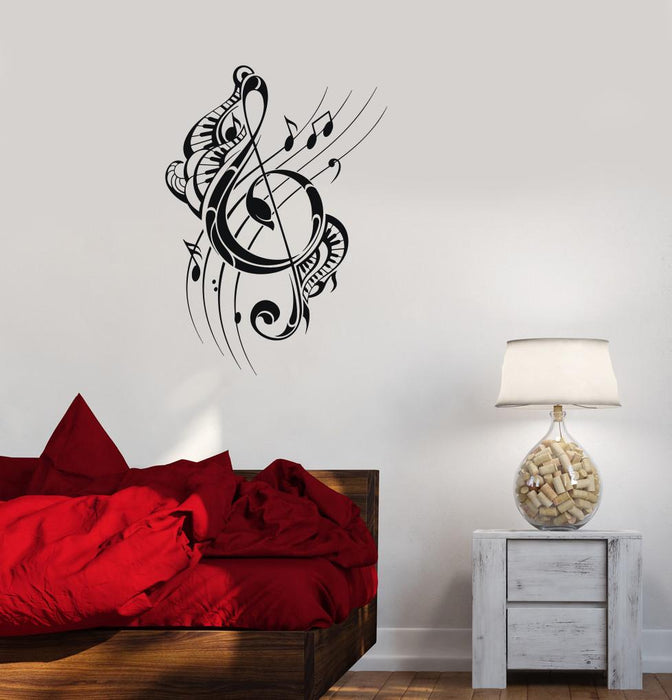 Vinyl Decal Music Decor Musical Notes Room Art Wall Stickers Mural Unique Gift (ig2738)