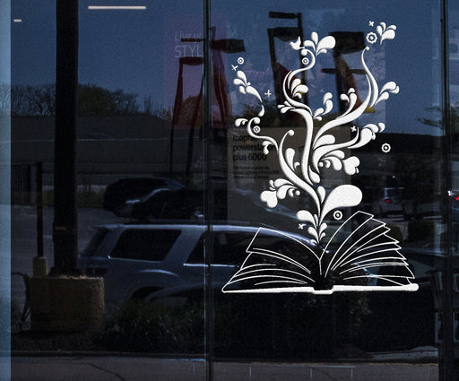 ig2945 Wall Decal Book Library Bookworm Bookstore Dream Vinyl Stickers