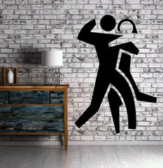 Dancing Tango Dance Waltz Mural Wall Art Decor Vinyl Sticker z021