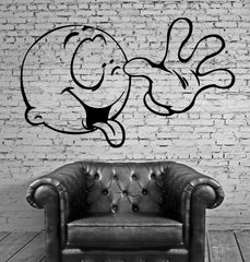 Funny Baby showing thongue Funny  Mural Mural Wall Art Decor Vinyl Sticker  z066